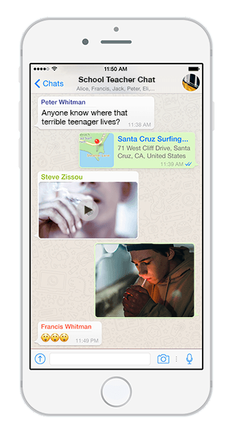 9ine_School_Teacher_WhatsApp_Chat_Example